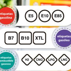 Así es el nuevo etiquetado de combustibles